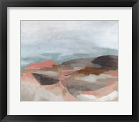 Tectonic Plateau II Framed Print
