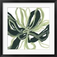 Framed Emerald Bloom II