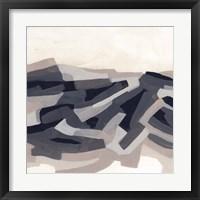Puzzle Landscape I Framed Print