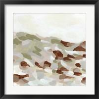 Hillside Mosaic I Framed Print