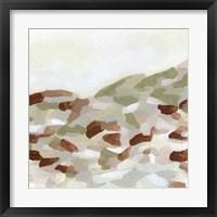 Hillside Mosaic II Framed Print