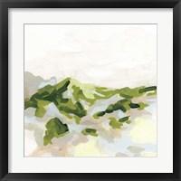 Framed Emerald Hills I