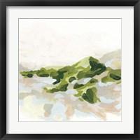 Framed Emerald Hills II