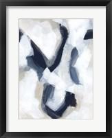 Indigo Imprint I Framed Print