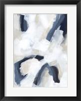 Indigo Imprint II Framed Print