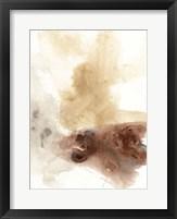Tectonic Geyser I Framed Print