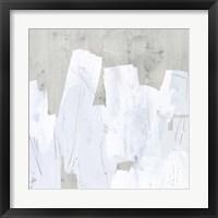 Ice Shield I Framed Print