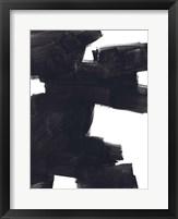 Block Brush I Framed Print