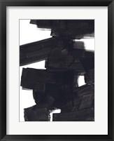 Block Brush II Framed Print