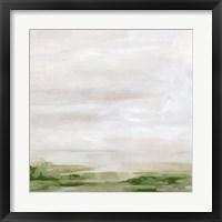 Marsh Horizon I Framed Print
