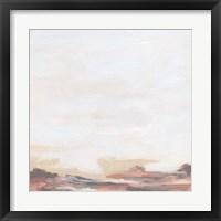 Rose Inlet I Framed Print