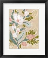 Spring Sketch I Framed Print
