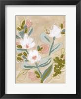 Spring Sketch III Framed Print