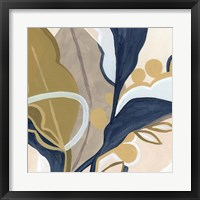 Puzzle Lily I Framed Print