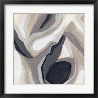 Stone Ripple I Framed Print
