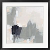 Neutral Echo I Framed Print