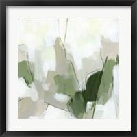 Emerald Fragment II Framed Print