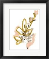 Liminal Floral I Framed Print