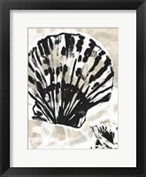 Sea Scumble I Framed Print