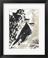 Sea Scumble III Framed Print