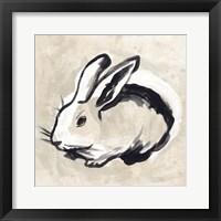 Antique Rabbit II Framed Print