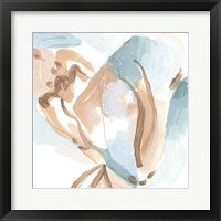 Abstracted Shells I Framed Print