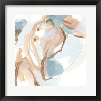 Abstracted Shells II Framed Print