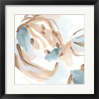 Abstracted Shells III Framed Print