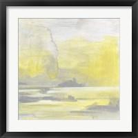 Citron Shore II Framed Print