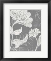 Grayscale Garden I Framed Print