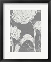Grayscale Garden II Framed Print