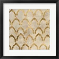 Tile Tableau III Framed Print