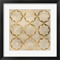 Tile Tableau V Framed Print