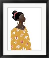 Pattern Poise I Framed Print
