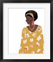 Pattern Poise II Framed Print