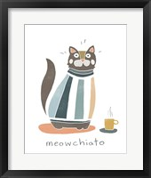 Framed Coffee Cats I