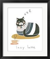 Framed Coffee Cats II