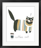 Framed Coffee Cats III