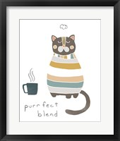 Framed Coffee Cats IV
