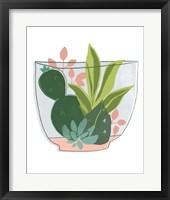 Terrarium Cameo V Framed Print