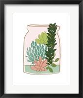 Terrarium Cameo VIII Framed Print