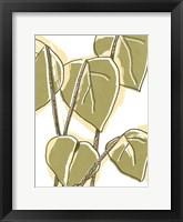 Tropical Offset II Framed Print