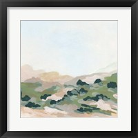 Valley Dusk I Framed Print