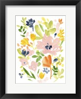 Meadow Potpourri II Framed Print