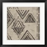 Bazaar Tapestry II Framed Print
