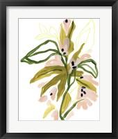 Tropical Cadenza I Framed Print
