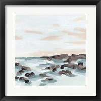 Coastal Shoals II Framed Print