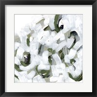Snow Lichen I Framed Print