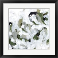 Snow Lichen II Framed Print