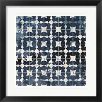 Framed Tile-Dye I